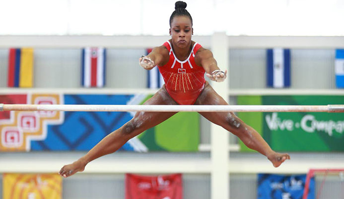 TT's Thema Williams testifies yesterday on Day 1 of her trial aginst the TT Gymnastics Federation, at the Port of Spain High Court.