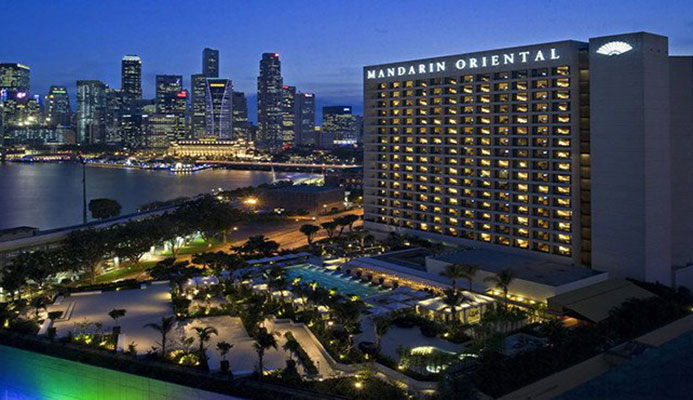 The CGF Executive Board held its meeting in Singapore this weekend ©Mandarin Oriental