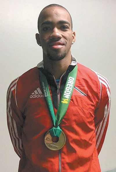 Olympian Cedenio assisting his local club, community