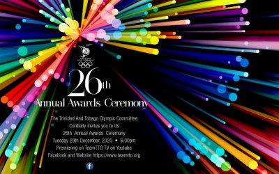 TTOC's Virtual Annual Awards Ceremony 2020