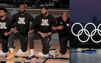 Wearing Black Lives Matter apparels, social protests will lead to punishments at Tokyo Olympics