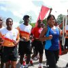 Queen's Baton Arrives in Trinidad and Tobago